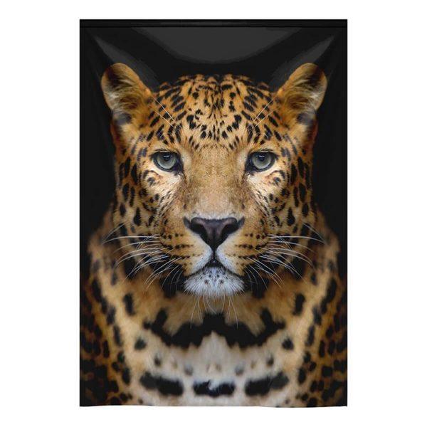 MondiArt Wandkleed Leopard Portrait